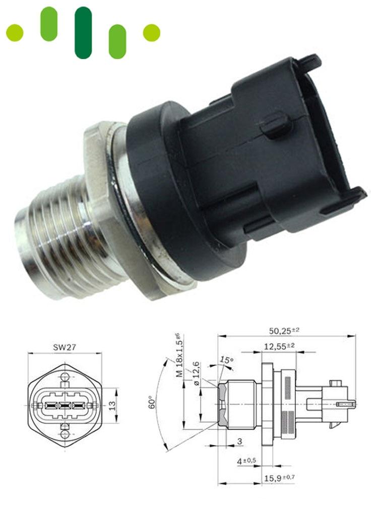 Herko Fuel Pressure Regulator PR4111 For Isuzu Honda Acura 97-01 3 Bar