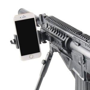 Image 3 - Picatinny Lato 20mm Fucile Pistola Ferroviario Treppiede di Montaggio per Sony GoPro Hero, Smartphone, DV, Xiaomi, macchina Fotografica di Azione di SJCAM Caccia Accessorio