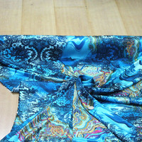 Yumuşak spandex streç ipek kumaş Charmeuse ipek saten elbise malzeme, Baskı, genişliği: 114 cm, kalınlığı: 18mm, 2 m tarafından satmak, TASARıMCı