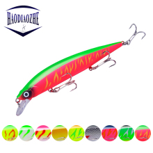 Купить с кэшбэком Minnow Fishing Lure 14cm 18.6g Crankbait Hard Bait Isca Artificial Wobbler Fishing Tackle 3D Eyes Floating Japan Pesca Crankbait