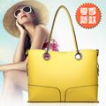 2015 Multi-purpose Fashion Brand Composite Bag Candy Color Women's Handbags Casual Female Bags