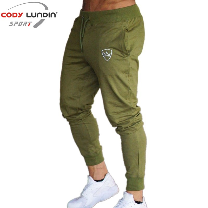 2018 New Men Joggers Brand Male Trousers Casual Pants Sweatpants Jogger Grey Casual Elastic Cotton Gyms Fitness Workout Pan Luggage & Bags