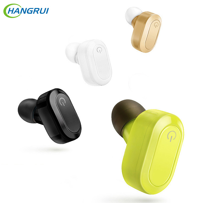 HANGRUI Wireless Bluetooth Earphone K15 Handsfree Headset with Microphone Sports In ear Earbuds For iPhone phones fone de ouvido new awei a990bl sports earphone wireless bluetooth headset with microphone stereo music in ear noise reduction fone de ouvido