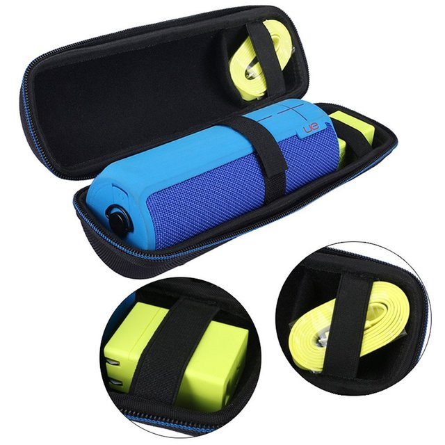 Manga capa protetora case bag bolsa portátil para logitech ue ue boom boom 2 dknight grande magicbox falante sem fio bluetooth