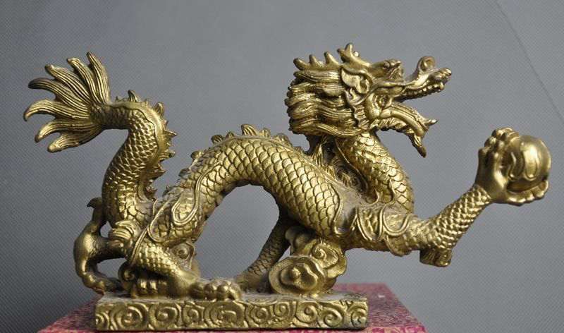 Details about  Collect Old Chinese Feng shui auspicious Zodiac animal Dragon Play beads statue Details about  Collect Old Chinese Feng shui auspicious Zodiac animal Dragon Play beads statue
