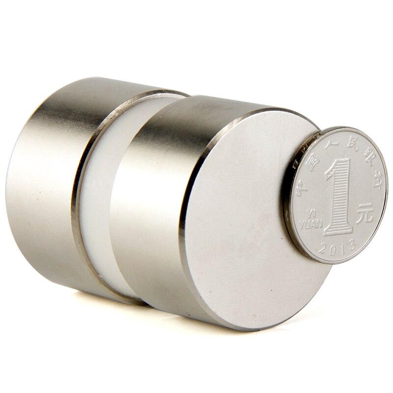 2 stücke super leistungsstarke Dia 40mm x 20mm neodym magnet 40x20mm 40x10mm 40x40x20mm disc magnet NdFeB block magneten