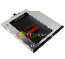 for Lenovo ThinkPad T400 T400s T500 W500 Notebook 2nd HDD SSD Caddy SATA3 Second Hard Disk Enclosure DVD Optical Drive Bay Case