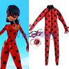 Kids Costumes Miraculous Ladybug Marinette Cosplay Costume Halloween Girls Child Lady Bug Spandex Full Lycra Zentai