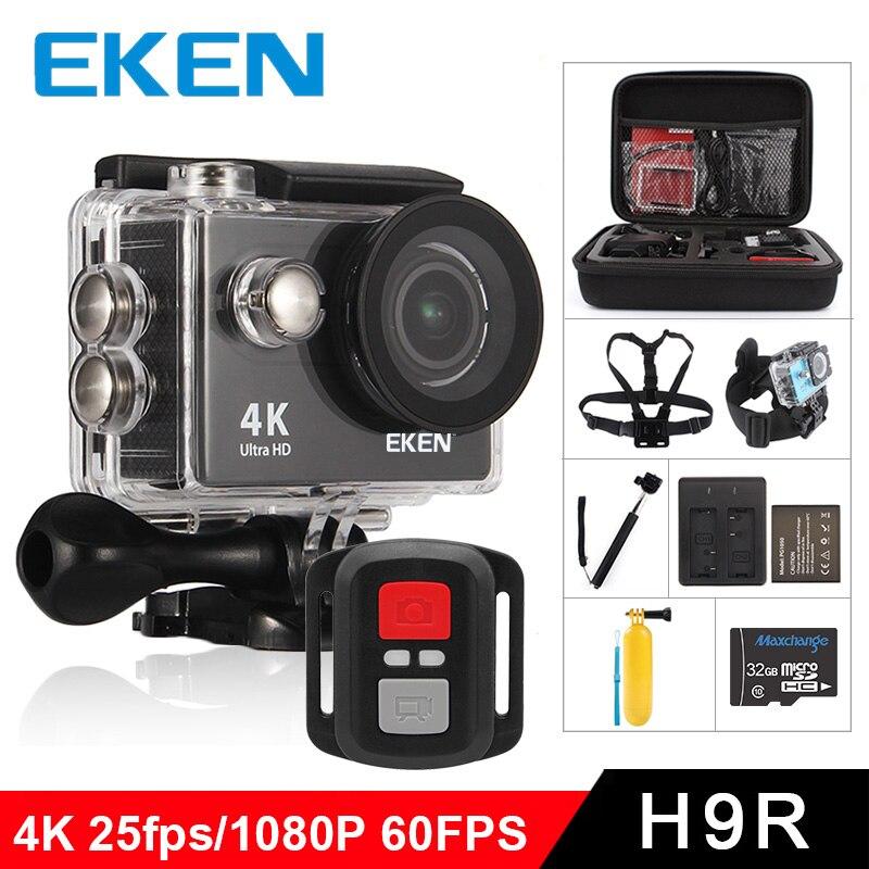 Caméra d'action EKEN H9R/H9 Ultra HD 4 K/25fps WiFi 2.0