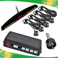 car front sensor parking brake version 0.3-1.5M distance detection built in buzzer alarm three color LED display.
