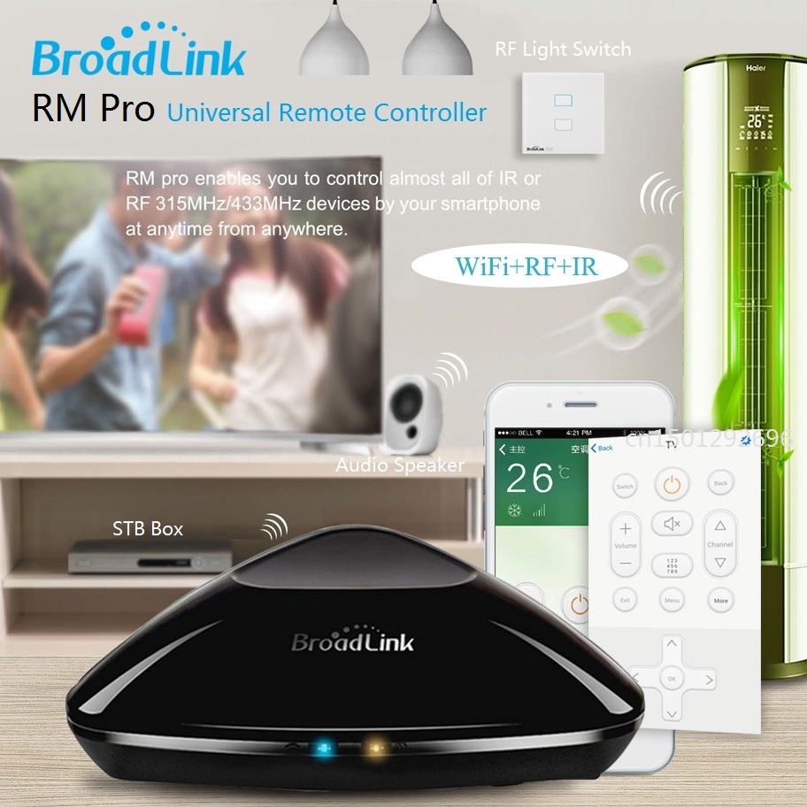 2017 New Version Broadlink RM Pro RM2 RM03 Smart Hos