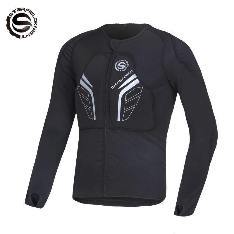 Moto équitation armure vêtements incassable costume doux armure corps équitation moto équipement de protection armure SKJ-801