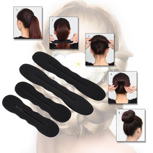 Sponge-Roller Braiders-Accessories Hair-Clips Curler Bun-Making-Tool Styling for 4pcs/Set