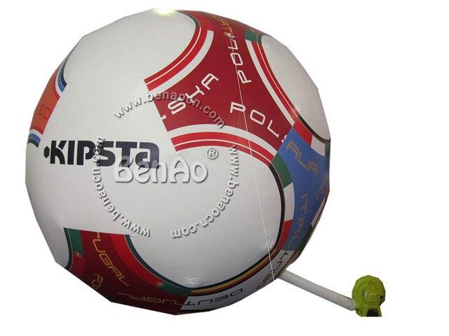 AG042 Новый стиль футбольная форма надувной шар площадка/надувные землю воздушные шары, реклама гигантские наземные баллонов