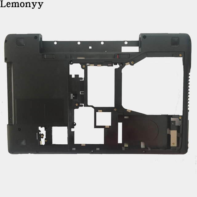 NEW Laptop Bottom Case for Lenovo Y570 Y575 Laptop Bottom Base Case Cover with TV black AP0HB000800