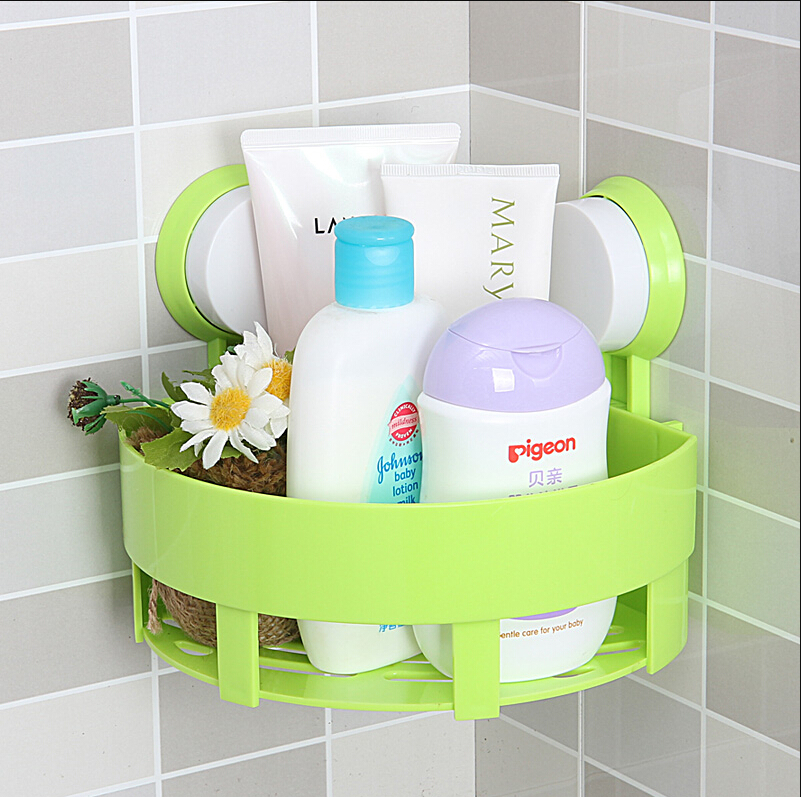 Simple life bathroom accessories basket rack wall hanging shelf ...