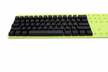 כתום אפור שחור לבן ירוק צהוב בלנק העבה PBT פרופיל OEM 62 מפתח ISO 61 ANSI Keycaps עבור מתגי MX מקלדת מכאנית