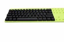 Weiß Schwarz Grau Orange Grün Gelb Leer Starke PBT OEM Profil 62 Schlüssel ISO 61 ANSI Tastenkappen Für Mx schalter Mechanische Tastatur