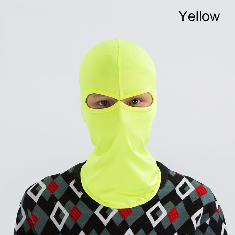 Image 3 - COYOCO Windproof Motorcycle Cycling 2 Holes Hawkeye Full Face 