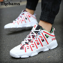 2018 autumn new men's shoes, PU mesh breathable men's vulcanized shoes men and women Casual Lovers sports shoes size 36-44