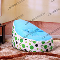 FREE SHIPPING baby seat with 2pcs up covers baby bean bag chair children bean bag seat cover lazy bone bean bag chair