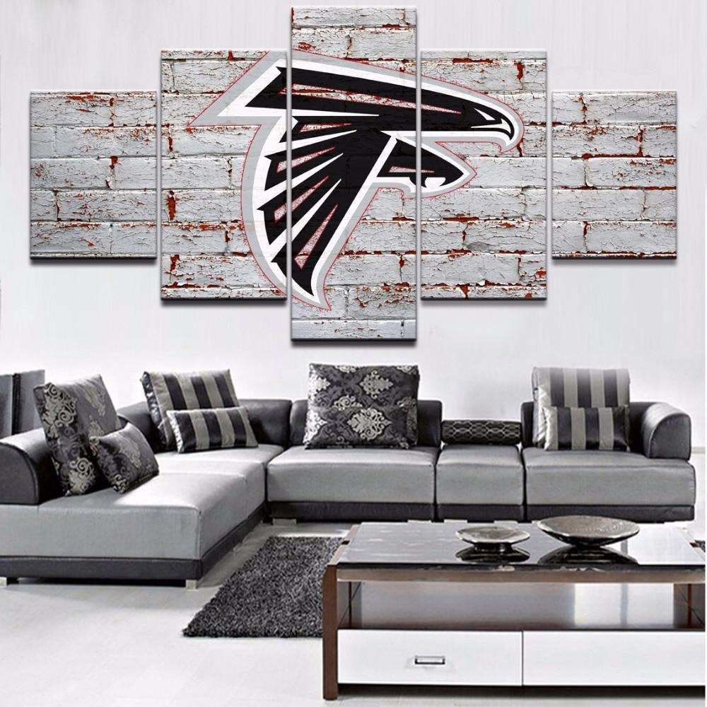 Atlanta Falcons Locker Room Window Valance Zoom