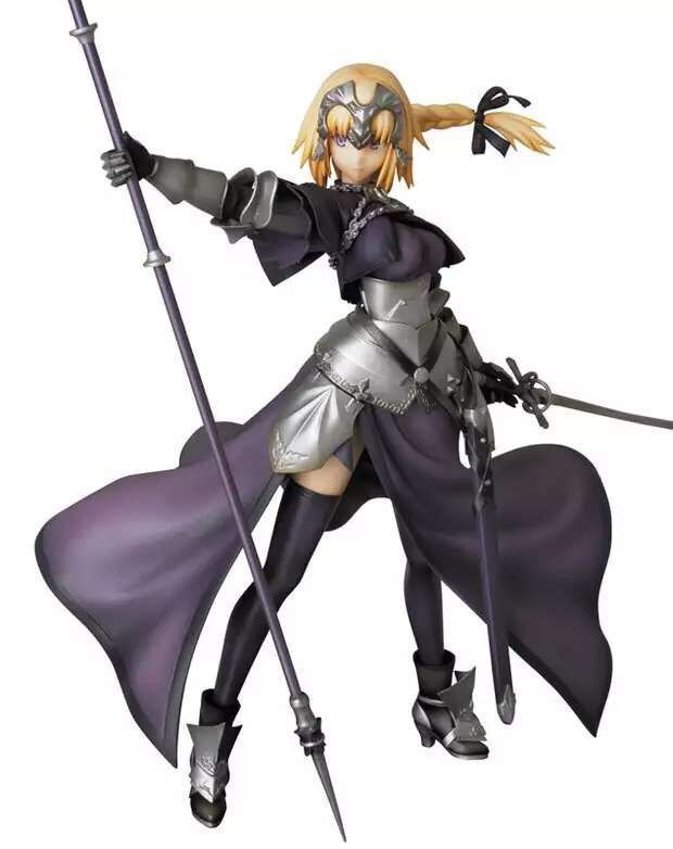 1pcs Japan anime Miedcom PPP Fate/Apocrypha SABER action pvc figure toy tall 22cm.