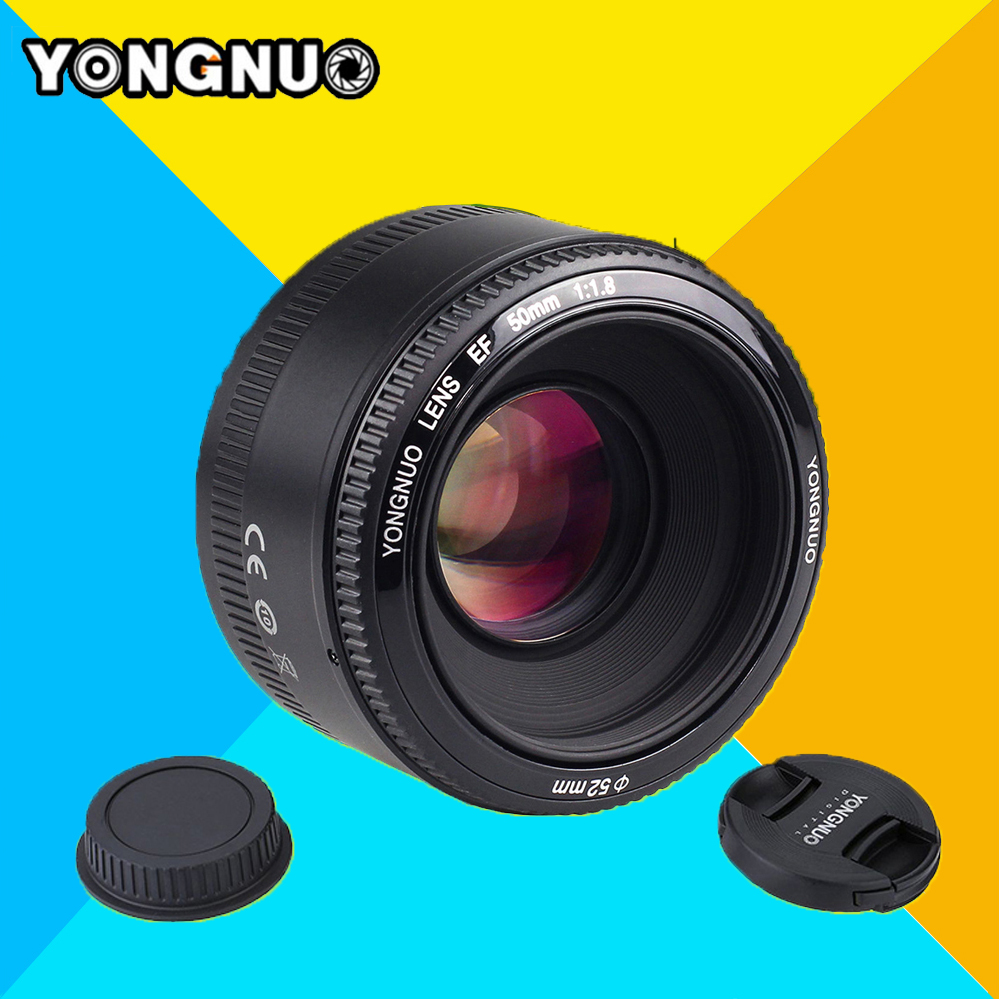 YONGNUO YN50MM F/1.8 AF Large Aperture Auto Focus Lens YN 50MM  AF-S 50mm 1.8G Lens For Nikon d7100 d3100 d5300 d7000 d90 Camera yongnuo yn 50mm f 1 8 af lens yn50mm aperture auto focus large aperture for nikon dslr camera as af s 50mm 1 8g gift kit