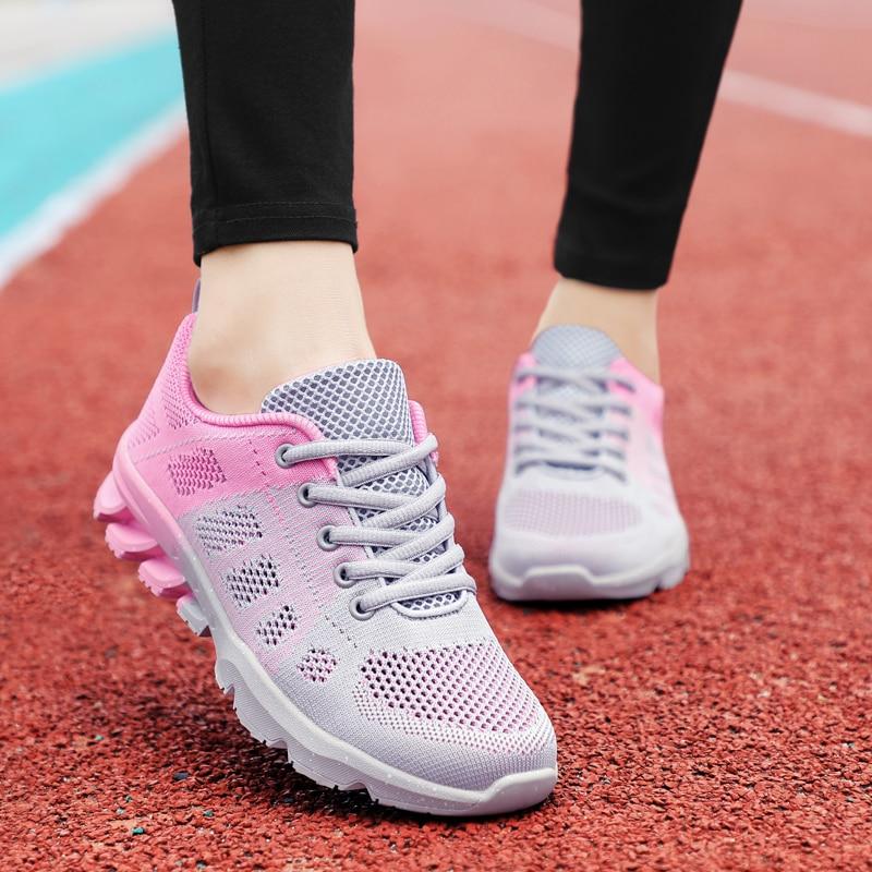 women sneakers 2017 casual fashion air mesh lace-up Summer Comfortable women shoes light Platform Sneakers Women Chaussure Femme