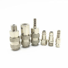 Pneumatic fitting EU type Quick push in connector High pressure coupler work on Air compressor High-quality European standards(China)