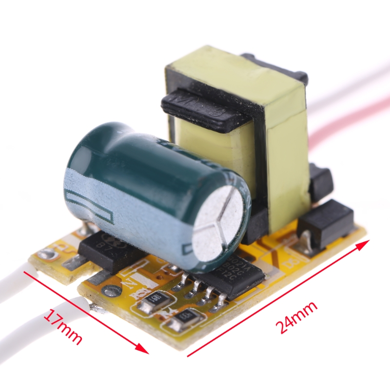YAM 1-3W Power Supply LED Driver Electronic Convertor Transformer Constant Current 240-260mA DC3-12V