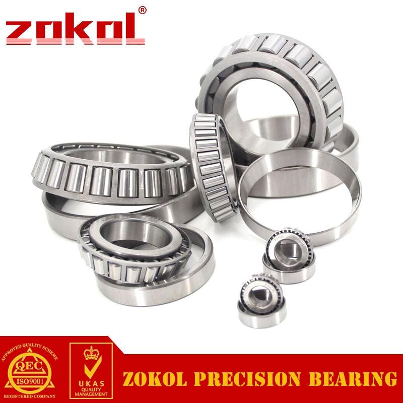 ZOKOL bearing 33015 3007115E Tapered Roller Bearing 75*115*31mm zokol bearing 32915 2007915e tapered roller bearing 75 105 20mm