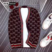 Fashion Men's Sweaters 2018 Runway Luxury Brand European Design party style Men's Clothing L10598