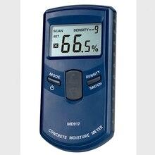 Портативный цифровой измеритель влажности бетонной стены диапазон 0-40% принять HF электромагнитное зондирование lcd детектор влажности древесины гигрометр