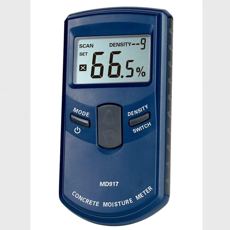 Adota o Higrômetro Úmido da Madeira do Lcd da Detecção Eletromagnética do hf a Escala Concreta 0-40% do Medidor da Umidade da Parede de Digitas Portátil
