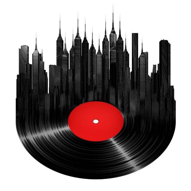 Aliexpress.com : Buy Music CD Poster Modern City View Art Print ...
