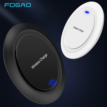 FDGAO Wireless Charger for iPhone X XR XS Max 8 Plus USB Charging pad for Samsung S8 S9 Note 9 Xiaomi Phone Qi wirless charger