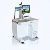 20W Fiber Laser Marking Machine For Metal,Stainless Steel,Aluminum,Brass,Plastic,Dog Tag