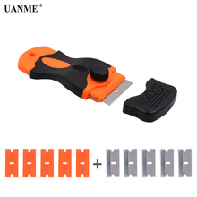 LOCA UV Glue Remover Scraper Knife for Mobile Phone LCD Touch Screen Residue Adhesive Cleaning Repair Tools With 10Pcs Blades diyfix phone repair tools set electric lcd glue remover dispergator for iphone mobile phone lcd touch screen repair tools kits
