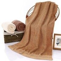 Top Quality 70*140cm Egyptian Cotton Towels large men bath beach towels adults toalha de banho Washcloth Shower Towels Bathr