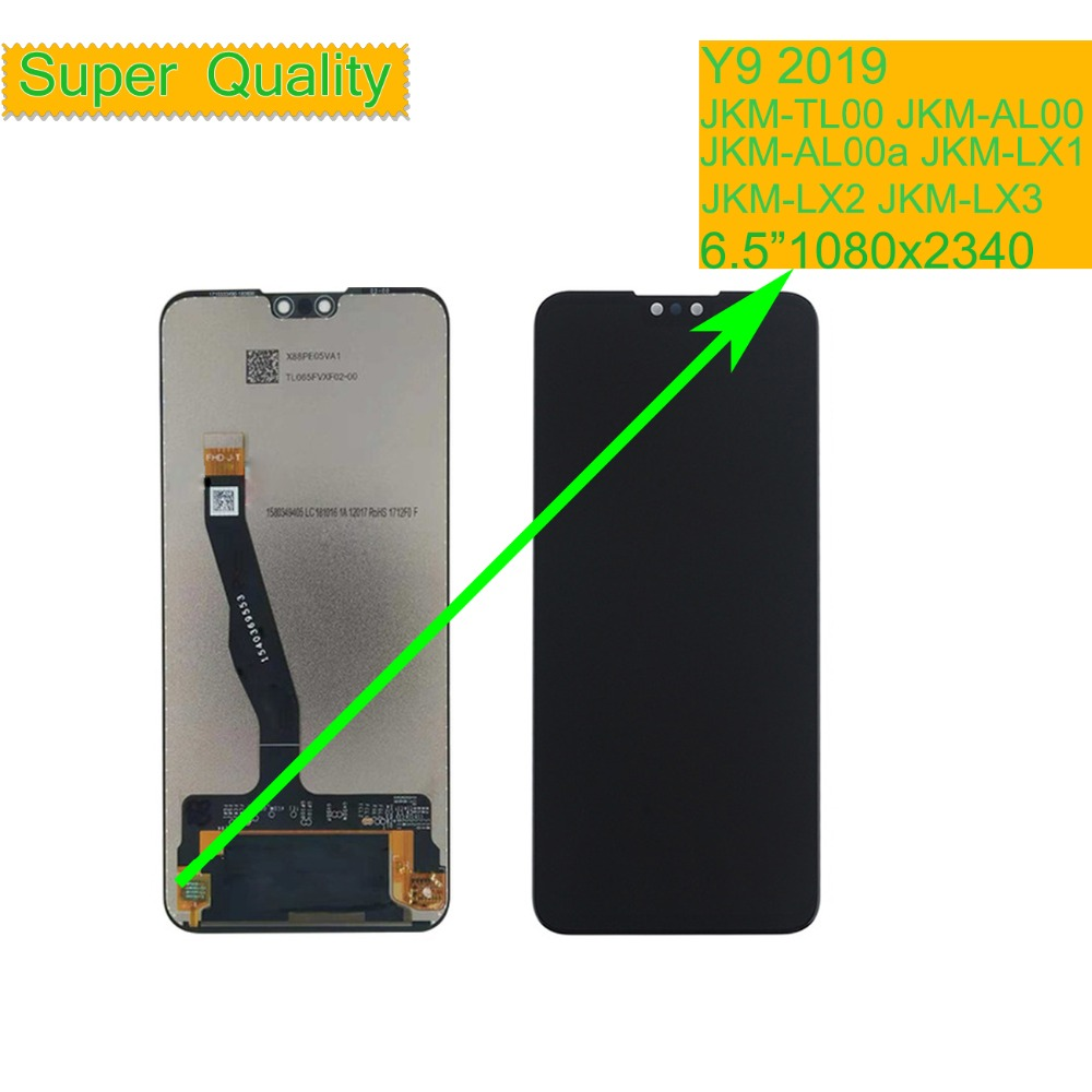 ORIGINAL For Huawei Y9 2019 LCD Display Touch Screen Assembly With Frame JKM TL00 JKM AL00 JKM AL00a JKM LX1 JKM LX2 JKM LX3 in Mobile Phone LCD Screens from Cellphones Telecommunications