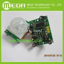 Пироэлектрический регулировка pir движения ик инфракрасный детектор модуль датчик шт.