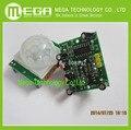 Frete grátis 1 pcs HCSR501 HC-SR501 Ajuste IR Infravermelho Piroelétrico PIR Motion Sensor Detector Módulo
