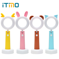 ITimo LED Pet Table Lamp USB Rechargeable Cute Book Light Adjustable Desk Light Children Room Decor
