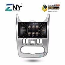 """9 """"IPS Android 8.0 Car Stereo Radio Auto Per Renault Duster Dacia Logan Sandero Multimedia FM RDS di Navigazione GPS 4 + 32 GB No DVD"""