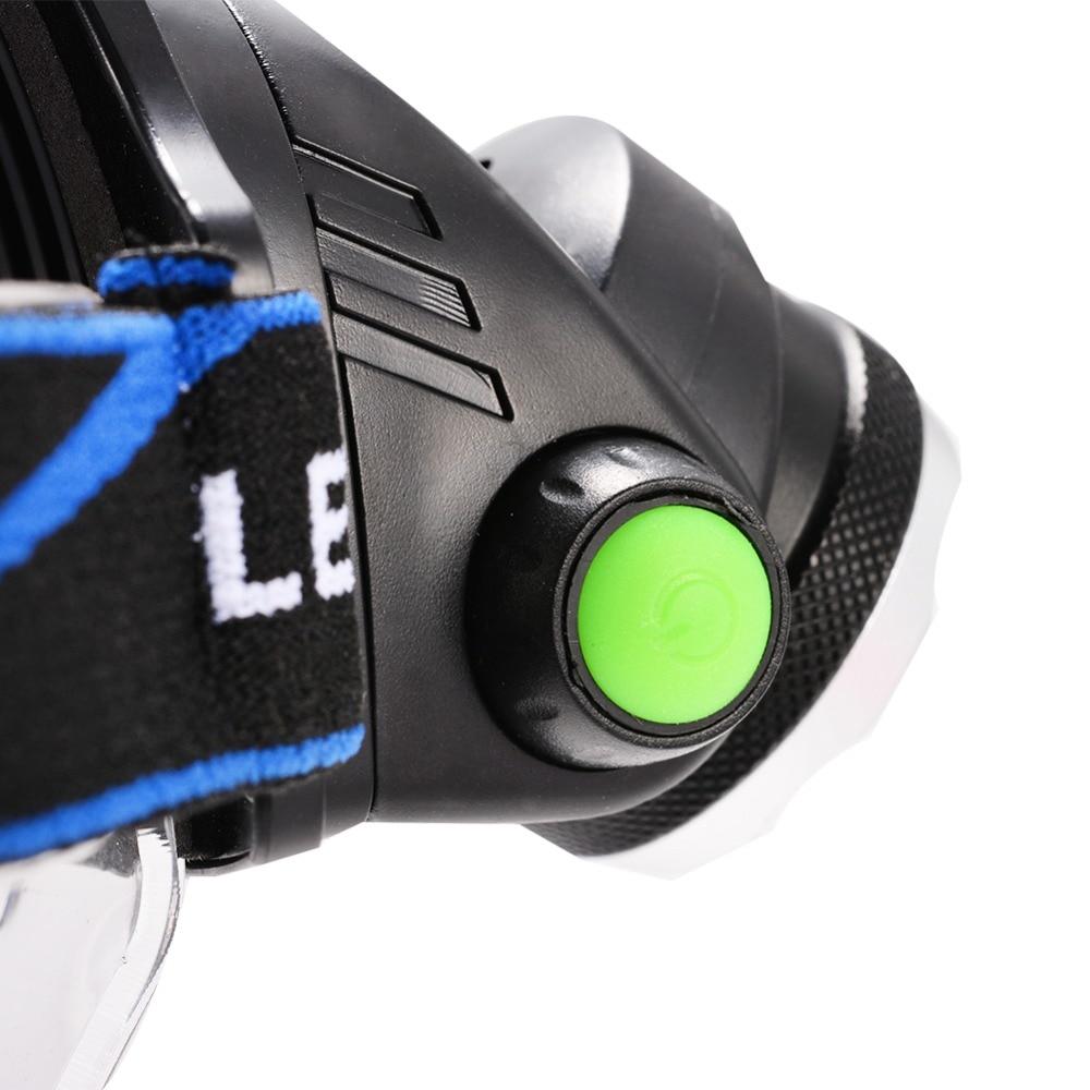 Ыстық HP79 Head light Т6 бас лампасы 3000LM - Портативті жарықтандыру - фото 2