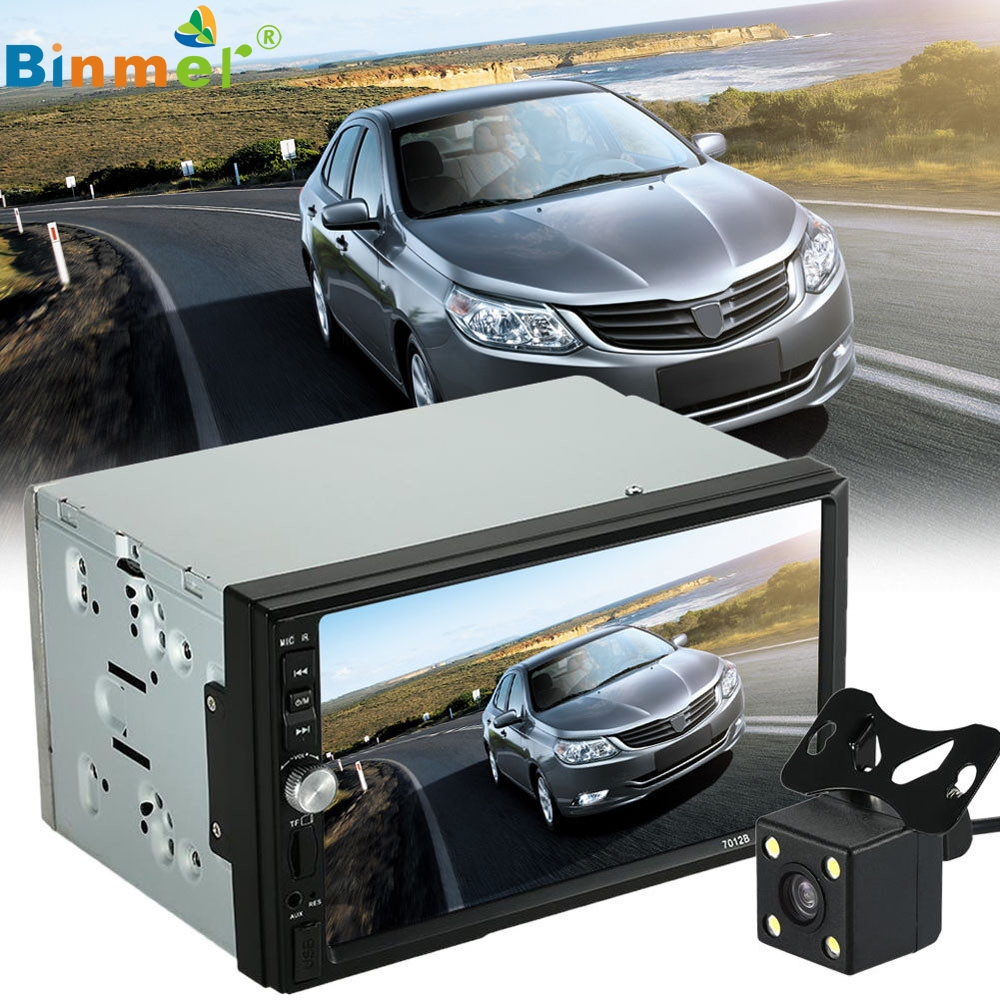 Beautiful Gift New  Double 2 Din Car Stereo MP5 MP3 Player Radio Bluetooth USB AUX + Parking Camera Wholesale price_KXL0530 7 hd 2din car stereo bluetooth mp5 player gps navigation support tf usb aux fm radio rearview camera fm radio usb tf aux