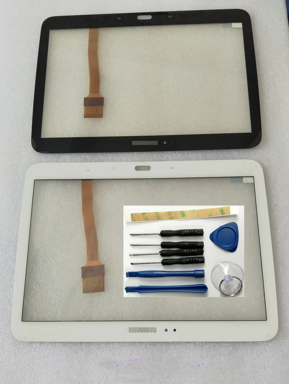 Shyueda 100% New For Samsung Galaxy Tab 3 10.1 P5200 P5201 P5220 Outer Front Glass Touch Screen