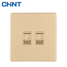 CHINT Wall Switch Socket NEW2D Newest Intel Socket Eight Core Computer Socket smeong wall mount computer socket switch w screws silver