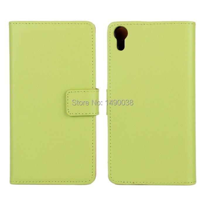 Vysoce kvalitní originální kožené pouzdro pro Sony Xperia Z4 Cover Flip Case s Book Stand Style Phone Bag Free